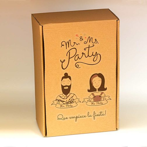 Caja Fiesta Mr & Ms Party