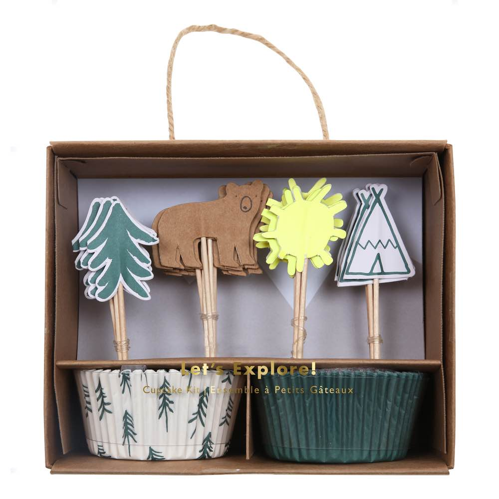 Kit Cupcakes Explorador