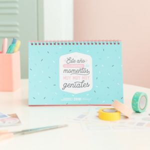 Calendario Scrapbooking 2018