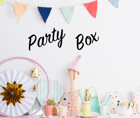 Party Box Banner