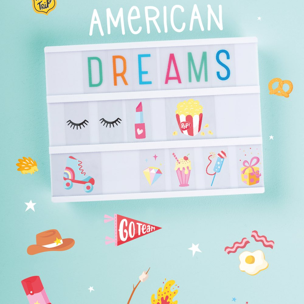 Set Letras American Dreams