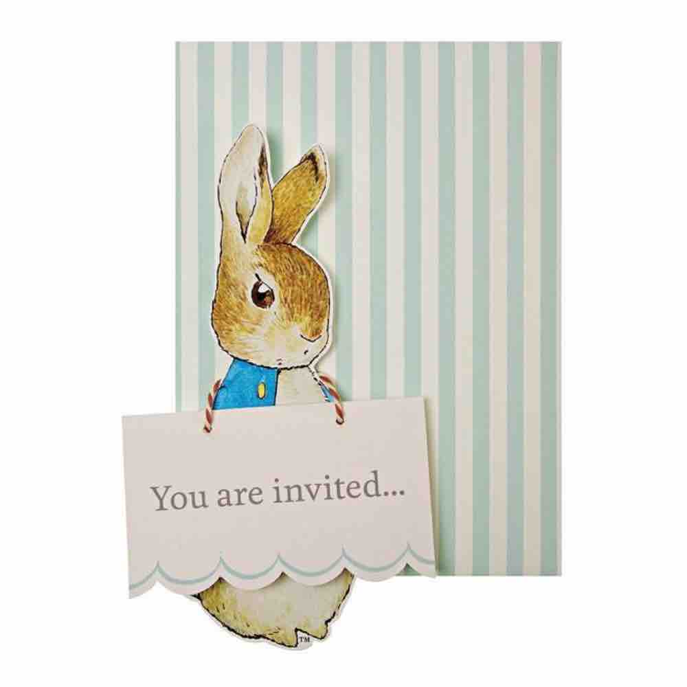 Invitaciones Peter Rabbit